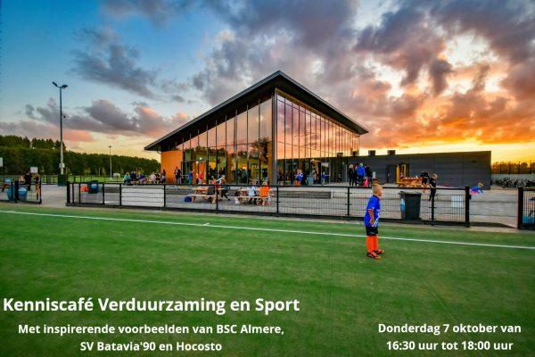 kenniscafé Verduurzaming en sport